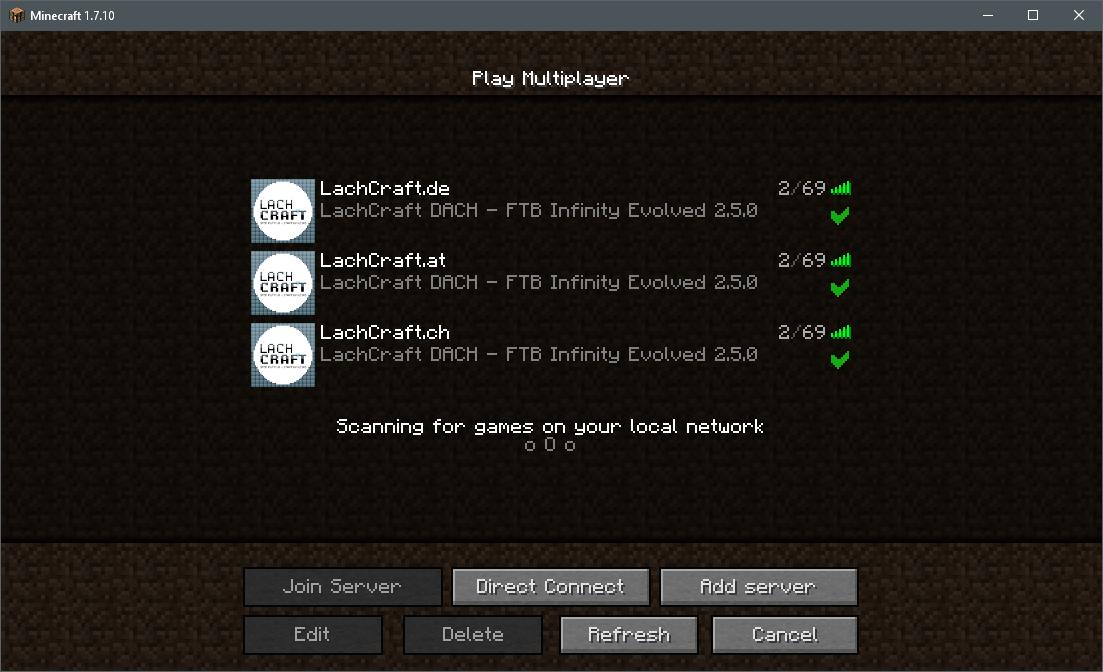 Minecraftserver Serverliste